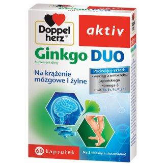 Doppelherz aktiv Ginkgo Duo, 60 kapsułek - zdjęcie produktu
