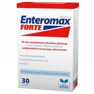 Pharmasis Enteromax Forte, 30 kapsułek otwieranych - zdjęcie produktu