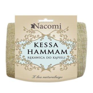 Nacomi Kessa-Hammam, rękawica do kąpieli, 1 sztuka - zdjęcie produktu