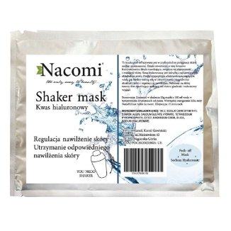 Nacomi, Shaker mask, maska peel-off do twarzy z kwasem hialuronowym, 25 g - zdjęcie produktu