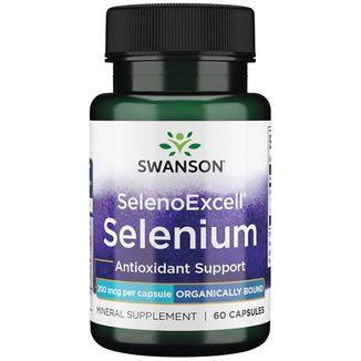 Swanson SelenoExcell, selen 200µg, 60 kapsułek - zdjęcie produktu