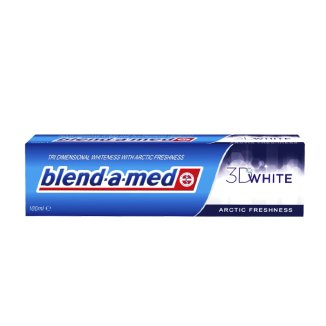 Blend-a-med, pasta do zębów 3D White Arctic Freshness, 100 ml - zdjęcie produktu