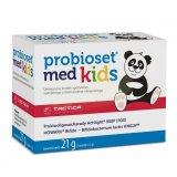 Probioset Med Kids, dla niemowląt i dzieci, 7 saszetek KRÓTKA DATA - miniaturka zdjęcia produktu