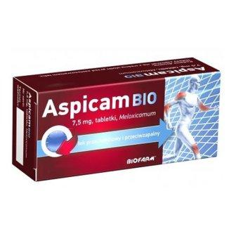 Aspicam Bio 7,5 mg, 20 tabletek - zdjęcie produktu