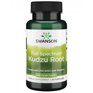 Swanson Kudzu Root, korzeń kudzu, 60 kapsułek - zdjęcie produktu