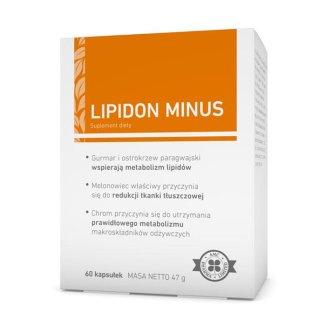 AMC Pharma Lipidon Minus, 60 kapsułek - zdjęcie produktu