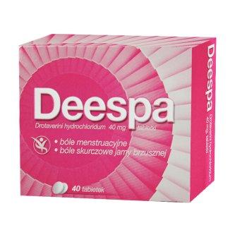 Deespa 40 mg, 40 tabletek - zdjęcie produktu
