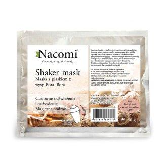 Nacomi, Shaker mask, maska algowa do twarzy z piaskiem z wyspy Bora Bora, 50 g - zdjęcie produktu