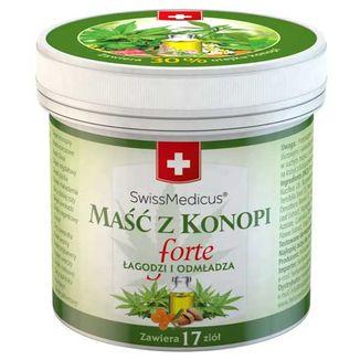 SwissMedicus Maść z konopi Forte, 125 ml - zdjęcie produktu