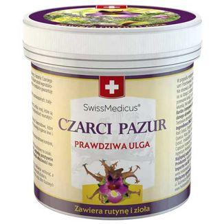 SwissMedicus Czarci pazur, balsam z rutyną i ziołami, 250 ml - zdjęcie produktu