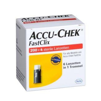 Accu-Chek FastClix, lancety, ostrza nakłuwające, 204 sztuki - zdjęcie produktu