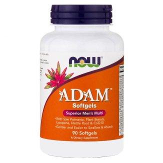 Now Foods, Adam, Men's Multi, multiwitamina dla niego, 90 kapsułek - zdjęcie produktu
