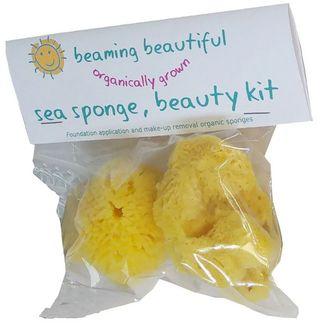 BEAMING Beautiful, organiczna gąbka morska, Beauty kit, 2 sztuki - zdjęcie produktu