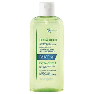 Ducray Extra Doux, szampon dermatologiczny do częstego stosowania, włosy delikatne, 200 ml - zdjęcie produktu