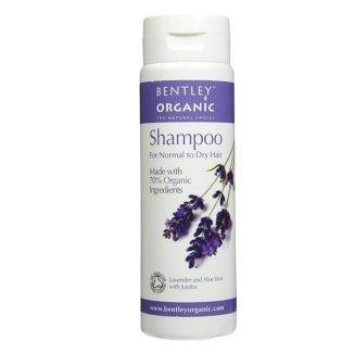 Bentley Organic, szampon z lawendą, aloesem i jojobą, do włosów normalnych i suchych, 250 ml - zdjęcie produktu