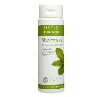 Bentley Organic, szampon z olejkiem herbacianym, cytryną i miętą, 250 ml - zdjęcie produktu