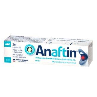 Anaftin, żel na afty, 8 ml - zdjęcie produktu