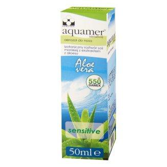 Aquamer Sensitive, aerozol do nosa, 50 ml - zdjęcie produktu