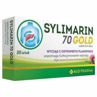 Sylimarin 70 Gold, 30 tabletek - zdjęcie produktu