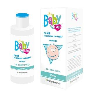 Babycap Chłopiec, płyn do higieny intymnej od 2 lat, 150 ml - zdjęcie produktu