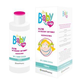 Babycap, płyn do higieny intymnej, dziewczynka, od 2 lat, 150 ml - zdjęcie produktu