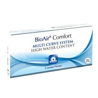 BioAir Comfort, soczewki kontaktowe, 30-dniowe, -3,25, 3 sztuki - zdjęcie produktu