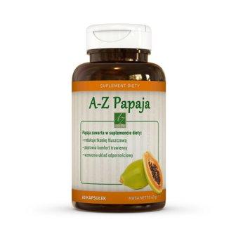 A-Z Papaja, 60 kapsułek - zdjęcie produktu