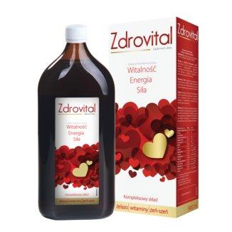 Zdrovital, tonik, 900 ml - zdjęcie produktu