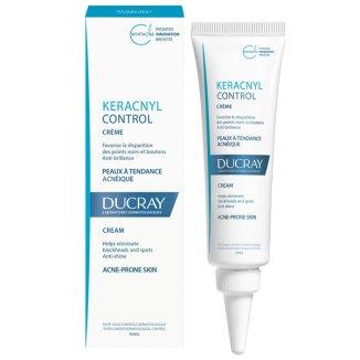 Ducray Keracnyl Control, krem na zmiany trądzikowe, 30 ml - zdjęcie produktu