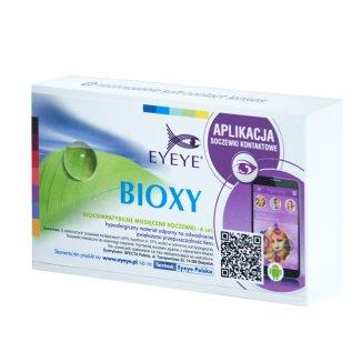 Soczewki kontaktowe Eyeye Bioxy, 30-dniowe, -4,00, 6 sztuk - zdjęcie produktu