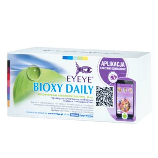 Soczewki kontaktowe Eyeye Bioxy Daily, 1-dniowe, -2,75, 30 sztuk - zdjęcie produktu