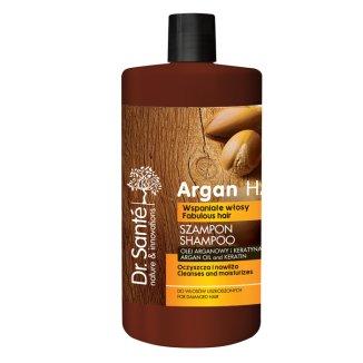 Dr Sante Argan Hair, szampon do włosów uszkodzonych, olej arganowy i keratyna, 1000 ml - zdjęcie produktu
