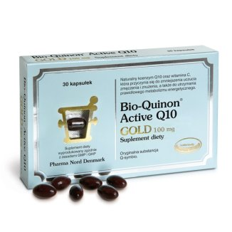 Pharma Nord Bio-Quinon Active Q10 Gold 100 mg, 30 kapsułek - zdjęcie produktu