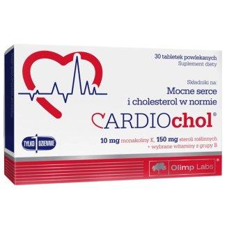 Olimp Cardiochol, 30 tabletek powlekanych - zdjęcie produktu