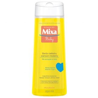 Mixa Baby, bardzo delikatny szampon micelarny, hipoalergiczny, 250 ml - zdjęcie produktu
