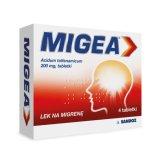 Migea 200 mg, 4 tabletki - miniaturka zdjęcia produktu