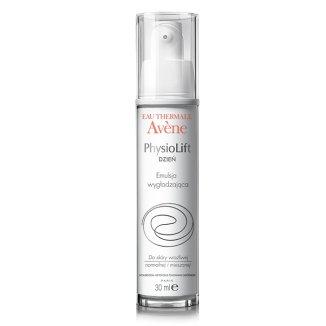 Avene PhysioLift, emulsja wygładzająca do twarzy, skóra wrażliwa, normalna i mieszana, 30 ml - zdjęcie produktu