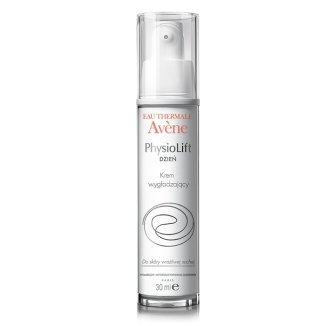 Avene PhysioLift, krem wygładzający do twarzy na dzień, skóra wrażliwa i sucha, 30 ml - zdjęcie produktu