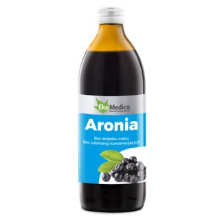 Aronia, sok, EkaMedica, 500 ml - zdjęcie produktu