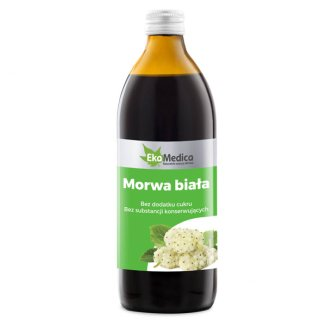 EkaMedica Morwa biała, sok, 500 ml - zdjęcie produktu