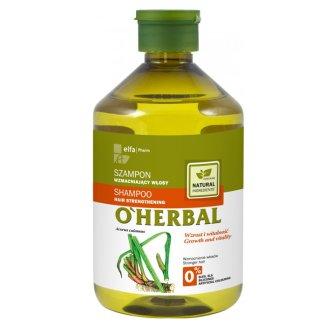 O'Herbal, szampon wzmacniający włosy z ekstraktem z kłącza tataraku, 500 ml - zdjęcie produktu