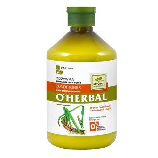 O'Herbal, odżywka wzmacniająca włosy z ekstraktem z korzenia tataraku, 500 ml - zdjęcie produktu
