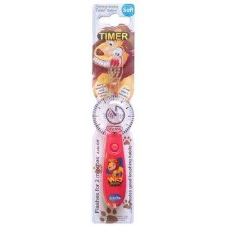 B-Brite, szczoteczka do zębów dla dzieci, Wild, Soft, 1 sztuka - zdjęcie produktu