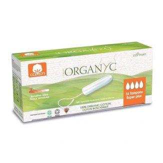 Tampony higieniczne Organyc, Super Plus, 16 sztuk - zdjęcie produktu