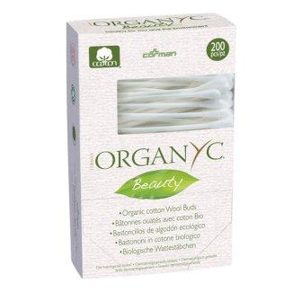 Organyc, patyczki kosmetyczne, ekologiczne, 200 sztuk - zdjęcie produktu