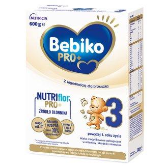 Bebiko Pro+ 3, mleko modyfikowane, powyżej 1 roku, 600 g - zdjęcie produktu