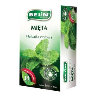 Belin Mięta, herbatka ziołowa, 24 saszetki - zdjęcie produktu