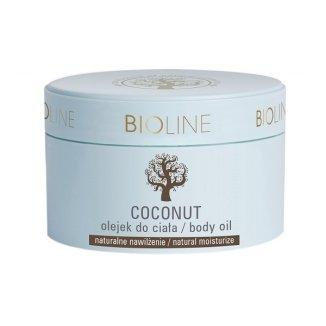 Bioline, olej kokosowy 100%, czysty, 200 ml - zdjęcie produktu