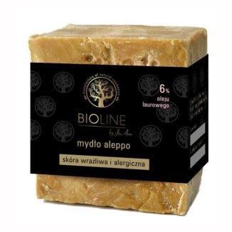 Bioline, mydło aleppo, 6% oleju laurowego, 200 g - zdjęcie produktu