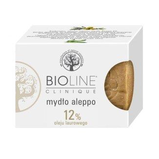 Bioline, mydło Aleppo 12% oleju laurowego, 200 g - zdjęcie produktu